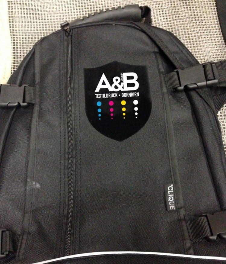 Druckbeispiele A&B Textildruck Dornbirn